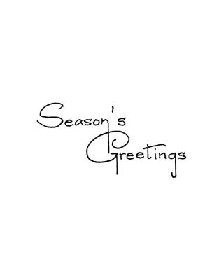 Season's Greetings - CC10878