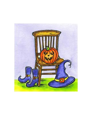 Small Chair, Hat, Shoes and Jack - CC10802