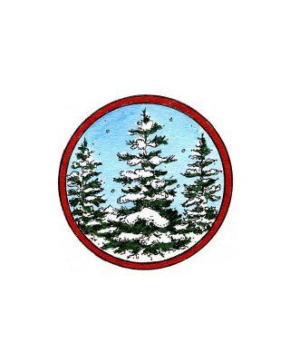 Snowy Spruce - C10165