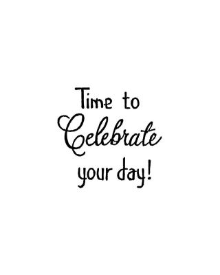 Time To Celebrate - C10437