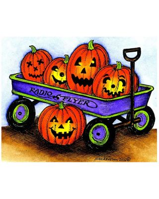 William's Jack O' Lantern Wagon - M10069