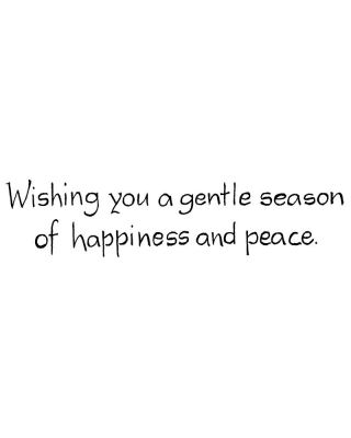 Wishing You A Gentle Season - D8853