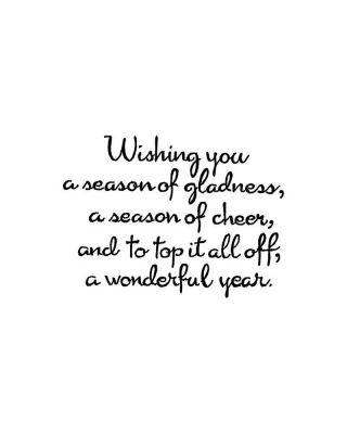 Wishing You A Season of Gladness - CC10535