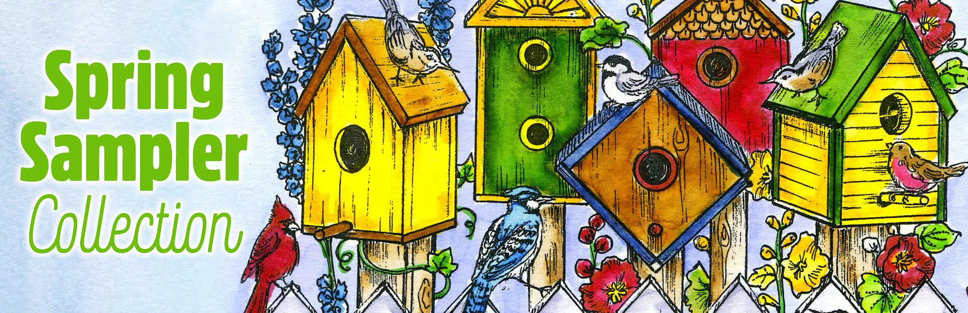 New Stamps: Spring Sampler from Northwoods Rubber Stamps